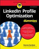 LinkedIn Profile Optimization For Dummies Pdf/ePub eBook