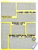 Boise National Forest N F Idaho City Unit Land Use Plan