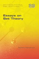 Essays on Set Theory