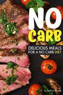 No Carb Cookbook