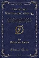 The Rural Repository 1842 43 Vol 19