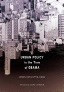 Urban Policy in the Time of Obama [Pdf/ePub] eBook