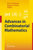 Advances in Combinatorial Mathematics [Pdf/ePub] eBook