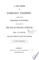 A New System of Domestic Cookery     A new edition Book PDF