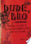 Dude Bro Book PDF