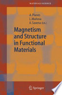 Magnetism And Structure In Functional Materials Book PDF
