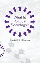 What is Political Sociology? Pdf/ePub eBook