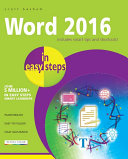 Word 2016 in easy steps