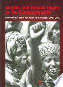 Gender and Human Rights in the Commonwealth Book