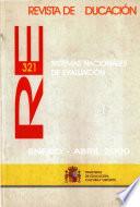Revista de educación nº 321. Sistemas nacionales de evaluación