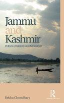 Jammu and Kashmir Pdf/ePub eBook