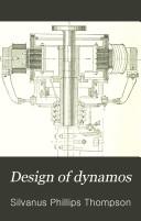 Design of Dynamos Book