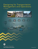Designing for Transportation Management and Operations Book