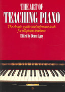 The Art of Teaching Piano Book
