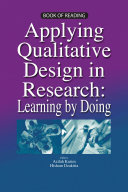 Applying Qualitative Design in Research  Learning by Doing  UUM Press
