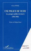 Pdf Une police de Vichy Telecharger