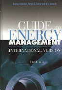 Guide to Energy Management  Fifth Edition  International Version