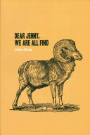 Dear Jenny  We are All Find