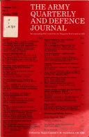 The Army Quarterly and Defence Journal