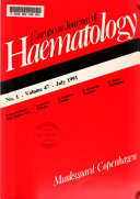 European Journal of Haematology Book