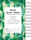 Blank Music Sheets