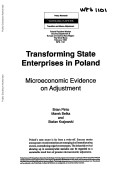 Transforming State Enterprises in Poland