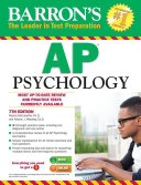 Barron's AP Psychology, 7th edition