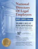 National Directory Of Legal Employers