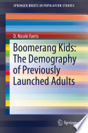 Boomerang Kids: The Demography of Previously Launched Adults