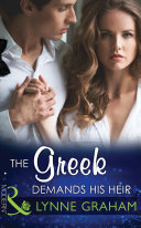 The Greek Demands His Heir (Mills & Boon Modern) (The Notorious Greeks, Book 1)