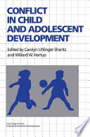 Conflict In Child And Adolescent Development