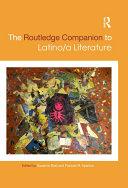 The Routledge Companion to Latino/a Literature Pdf/ePub eBook