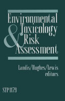 Pdf Environmental Toxicology and Risk Assessment
