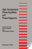 High Temperature Phase Equilibria and Phase Diagrams