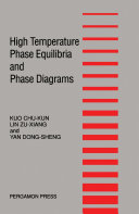 High Temperature Phase Equilibria and Phase Diagrams Pdf/ePub eBook