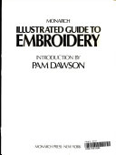 Monarch Illustrated Guide to Embroidery