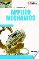 A Textbook of Applied Mechanics