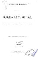 Session Laws ...
