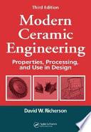 Modern Ceramic Engineering Book