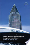 Linear and Non linear Numerical Analysis of Foundations