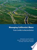 Managing California S Water Book PDF