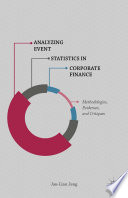 Analyzing Event Statistics in Corporate Finance Book