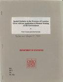 OSU Statistics Technical Report