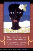 Writing African American Women  K Z