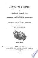 A Book for a Corner Book PDF