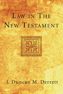 Pdf Law in the New Testament Telecharger