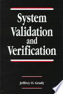 System Validation and Verification Book