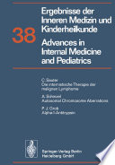 Ergebnisse der Inneren Medizin und Kinderheilkunde   Advances in Internal Medicine and Pediatrics