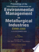 Proceedings of the International Conference on Environmental Management in Metallurgical Industries (EMMI-2000)
