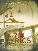 714 Lyrics Book